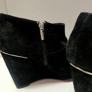 Coach Shoes - Coach Black Zip Up Booties